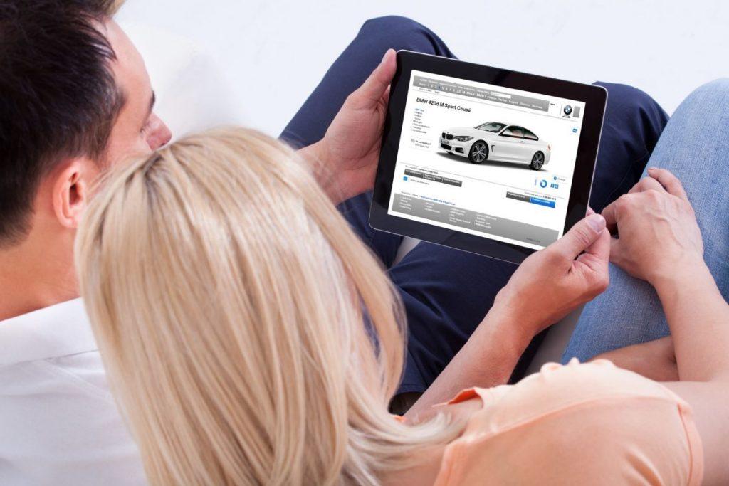 BMW online sales