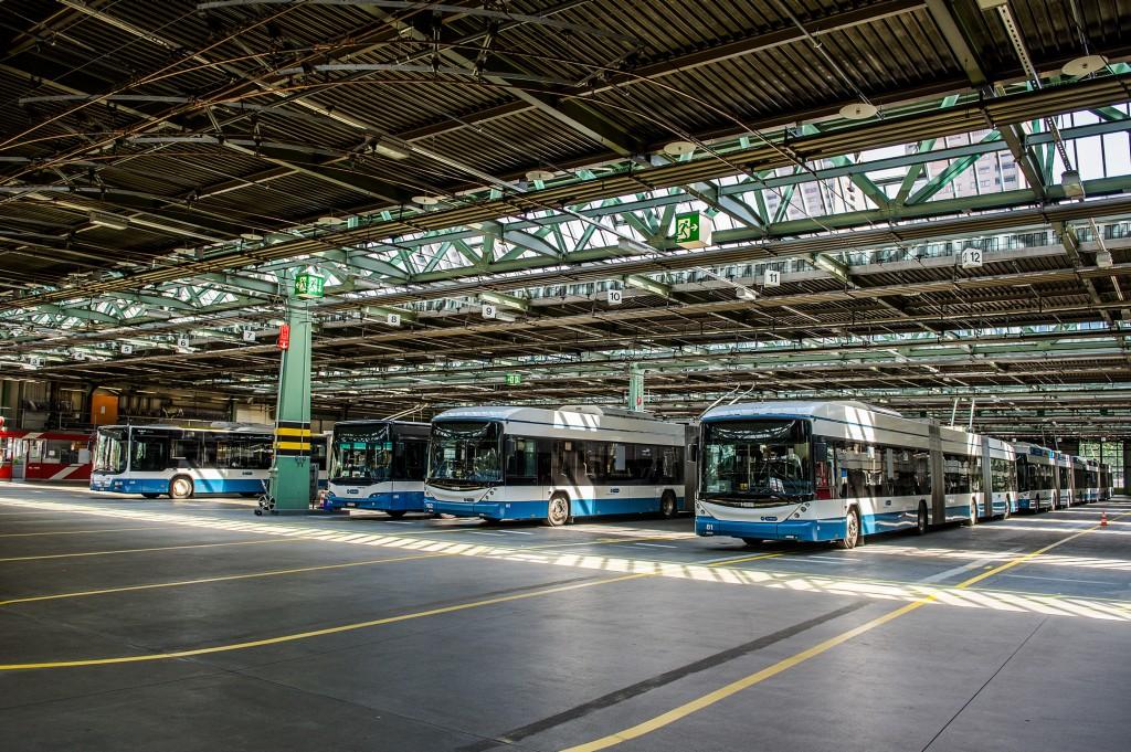Siemens bus charging infrastructure