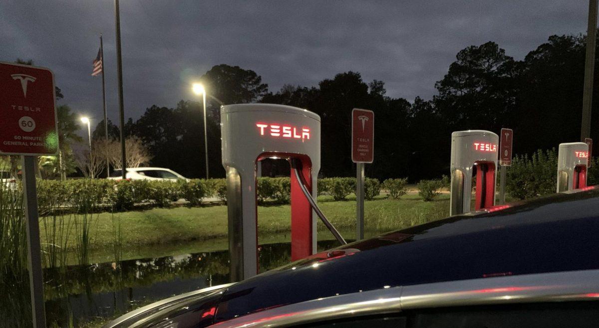 Tesla Suuperchargers in Georgia
