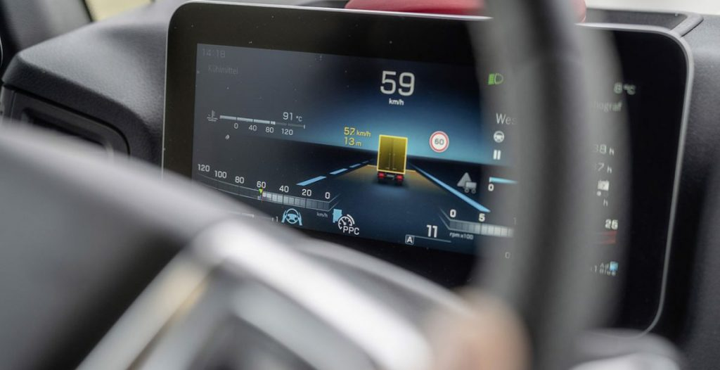 ADAS is finding its place in the truck sector