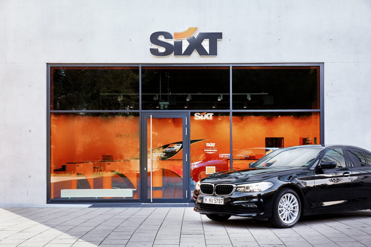 Sixt branch station