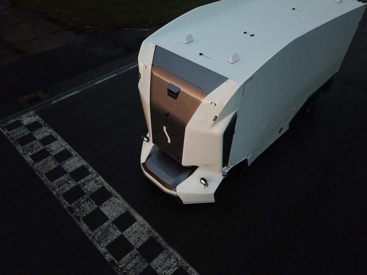 Einride autonomous electric trucks