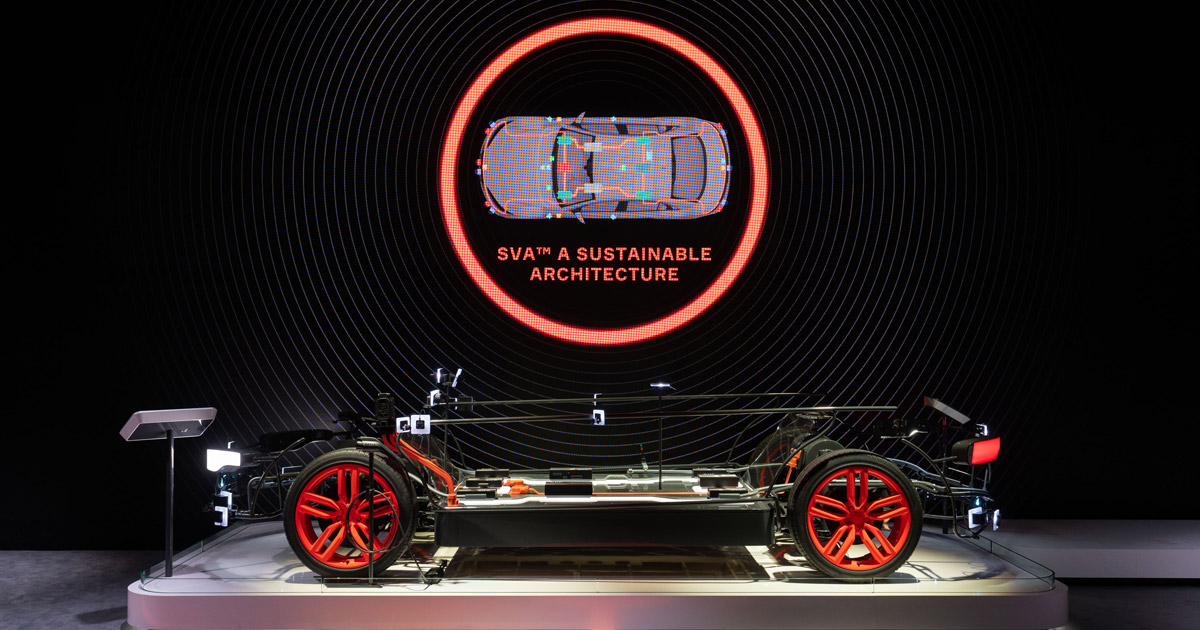 Aptiv smart vehicle architecture (SVA) full size