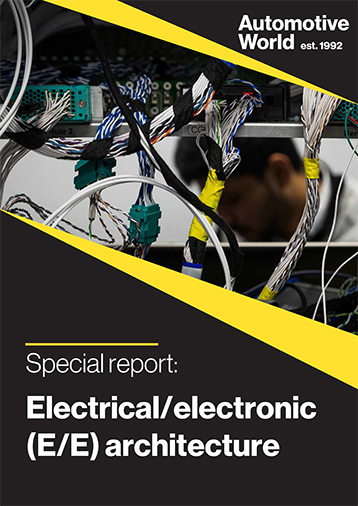 Special Report: Electrical/electronic (E/E) architecture