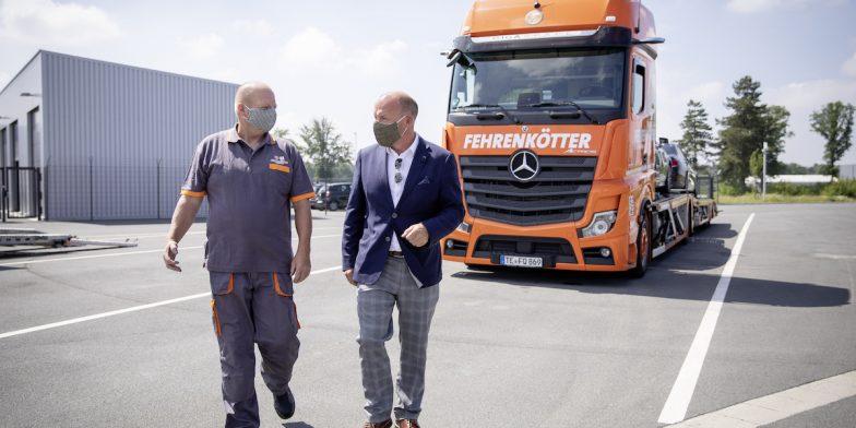 Daimler Trucker Covid