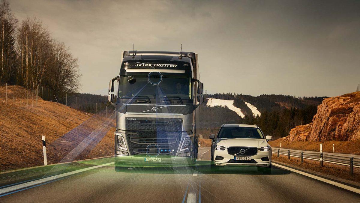 Volvo Trucks active safety