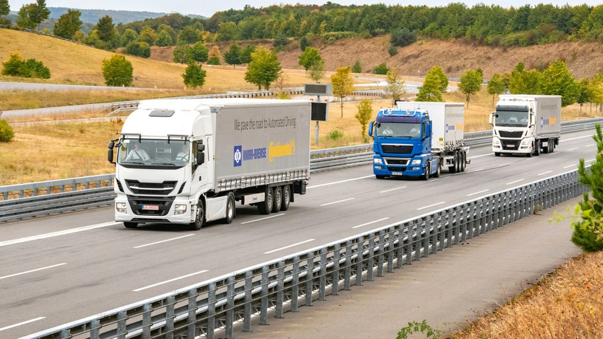 Knorr Bremse partners with Continental